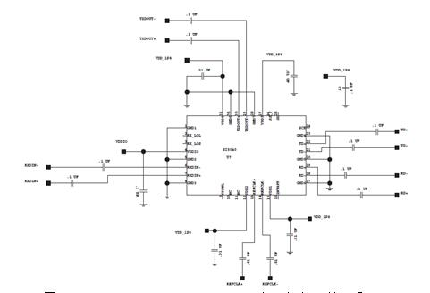Si5040 application circuit